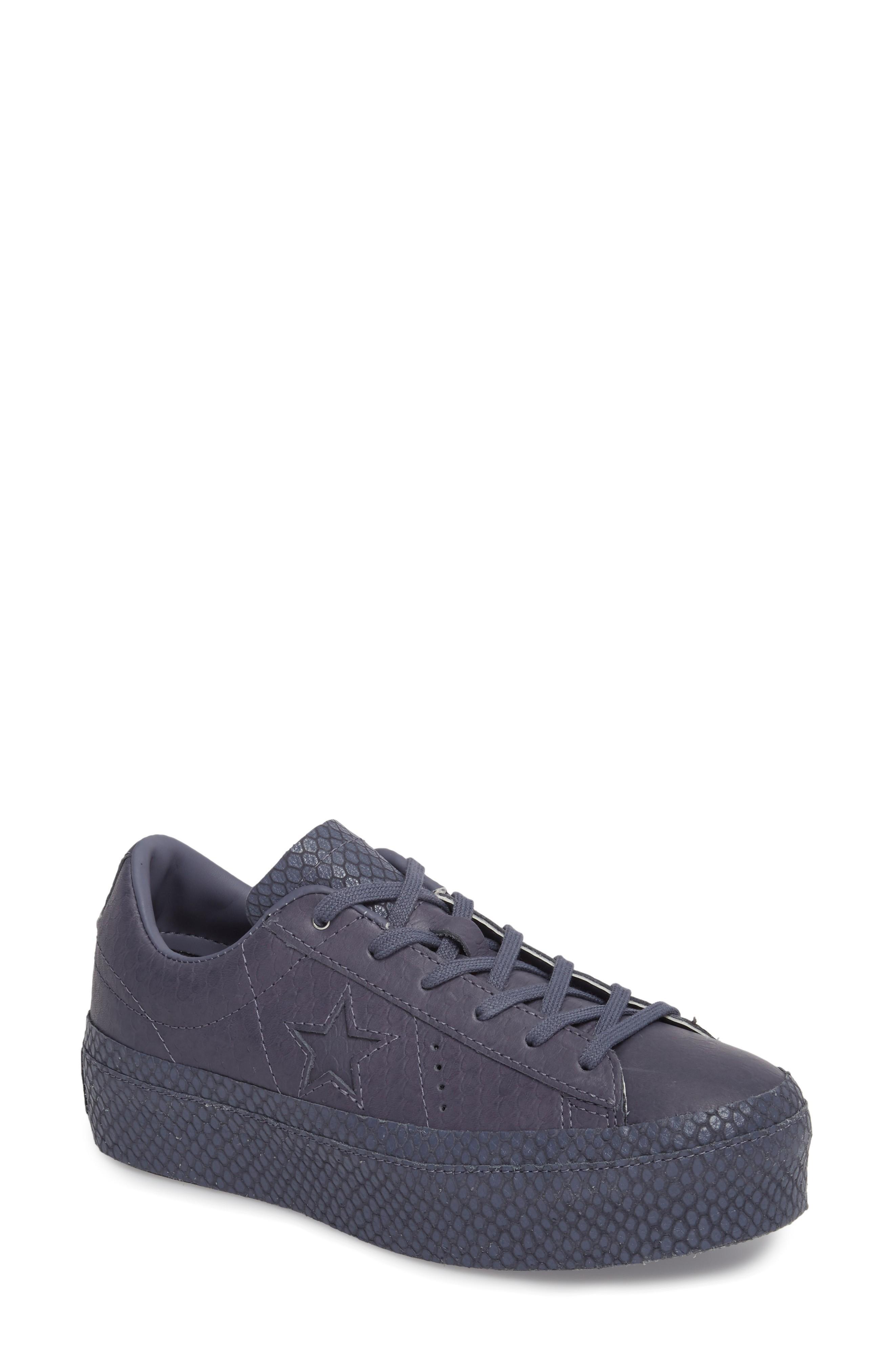 6cdaa375d899 Converse Chuck Taylor All Star One Star Platform Sneaker In Light Carbon