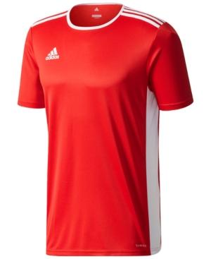88d1ca3f5 Adidas Originals Adidas Men s Entrada Climalite Soccer Shirt In Power Red