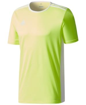36ba11ab8 Adidas Originals Adidas Men s Entrada Climalite Soccer Shirt In Yellow