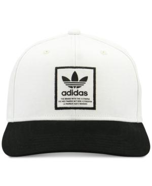 d5a86d347f3 Adidas Originals Adidas Men s Originals Patch Logo Hat In White ...