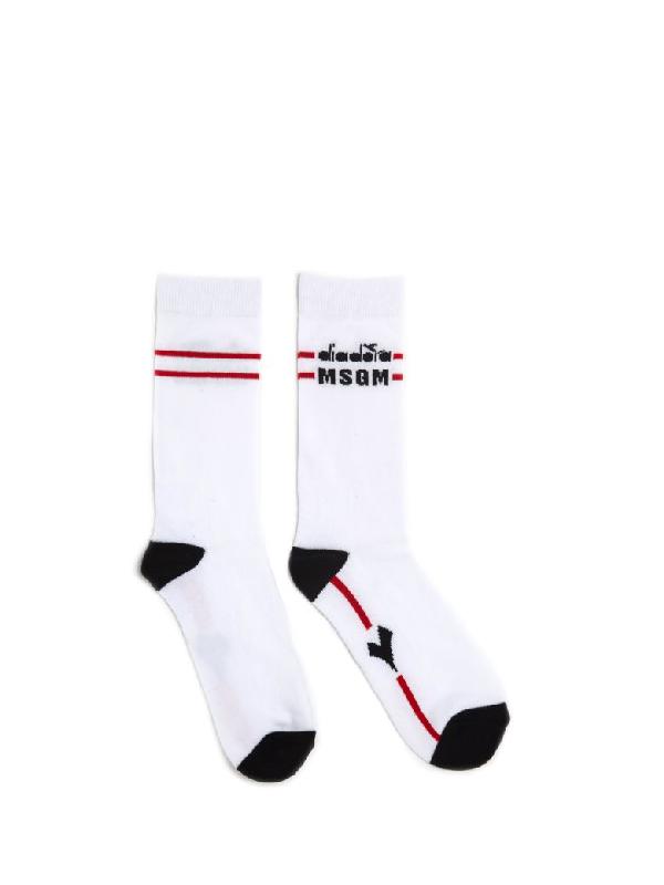 sale online best prices excellent quality Diadora Cotton Socks In White
