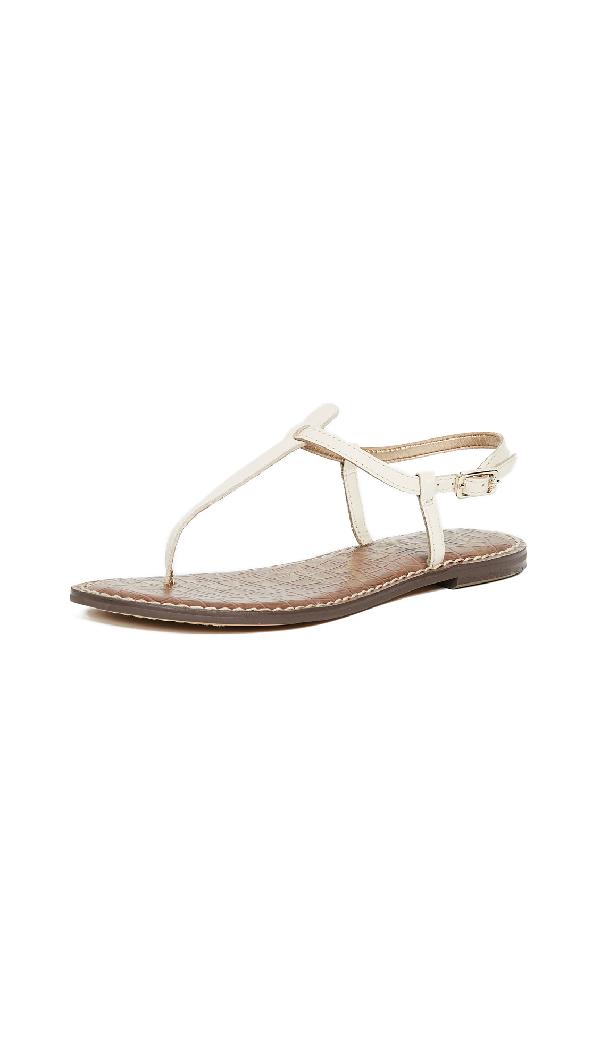 2cd8a375d17c Sam Edelman Gigi Flat Sandals In Modern Ivory