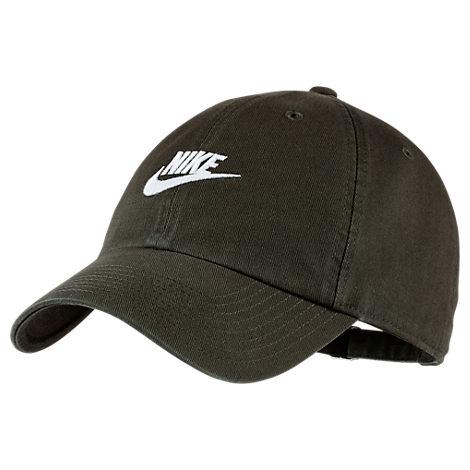 47f1f86712 Nike Sportswear H86 Washed Futura Adjustable Back Hat, Women'S, Brown