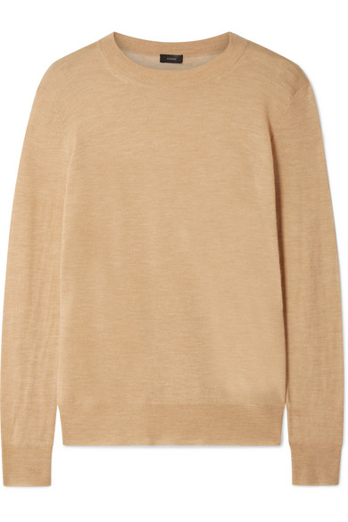Joseph Cashmere Sweater In Sand