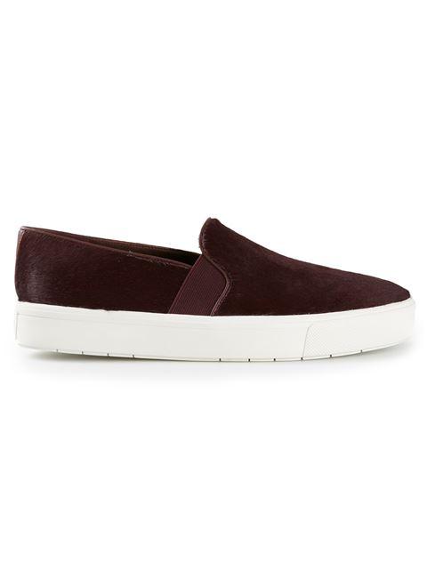Vince 'Blair 12' Genuine Calf Hair Slip-On Sneaker (Women) In Oxblood