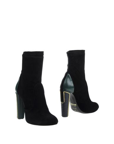 Just Cavalli Ankle Boot In Black