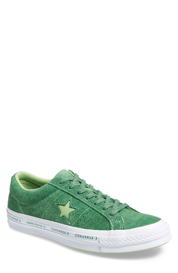 e4ab3332d08f Converse Chuck Taylor One Star Pinstripe Sneaker In Mint Green Suede ...