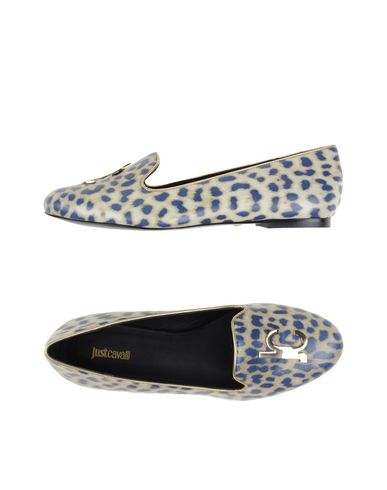 Just Cavalli Loafers In Ivory