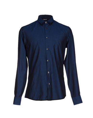 Just Cavalli Shirts In Dark Blue