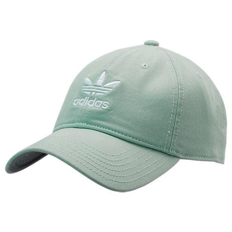 8b6b03b118e95 Adidas Originals Originals Precurved Washed Strapback Hat