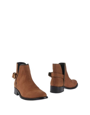 Just Cavalli Ankle Boot In Brown