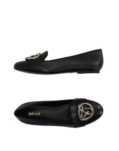 Just Cavalli Moccasins In Black