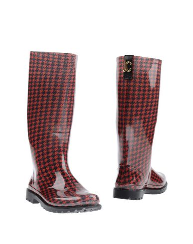 Just Cavalli Boots In Red