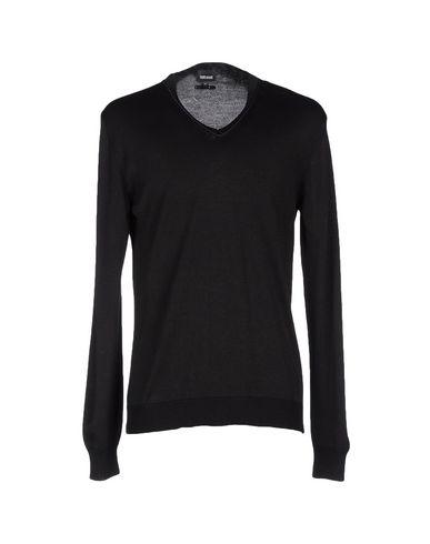 Just Cavalli Sweaters In Black