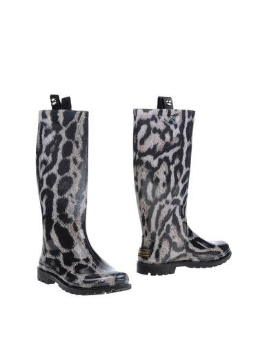 Just Cavalli Boots In Dark Green
