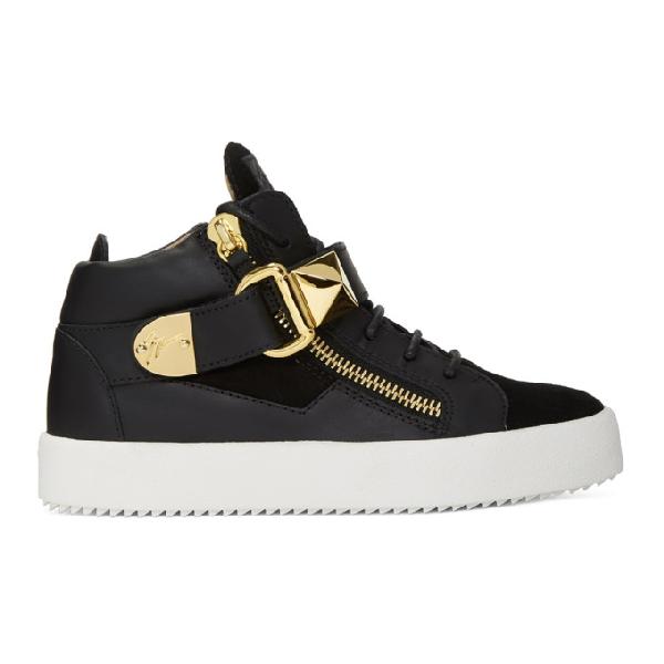 2195415415edc Giuseppe Zanotti Ssense Exclusive Black May London Donna High-Top Sneakers