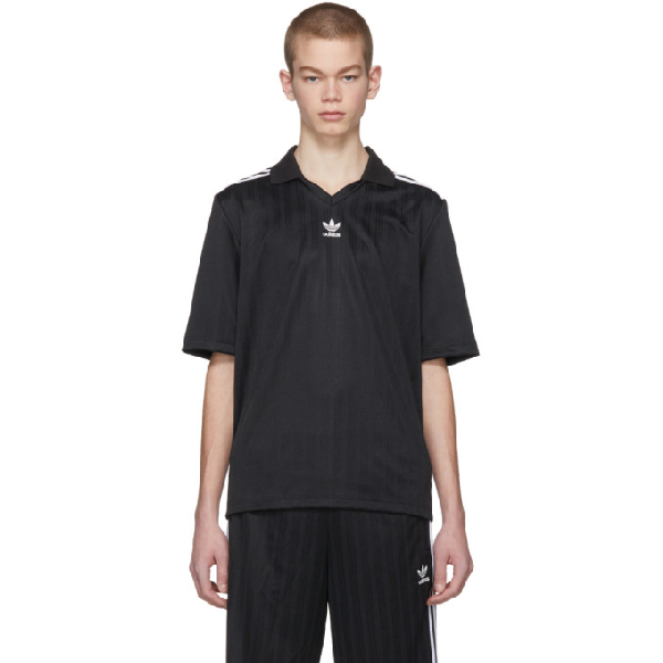 Adidas Originals Adidas Men's Originals Relaxed Soccer Shirt In Black