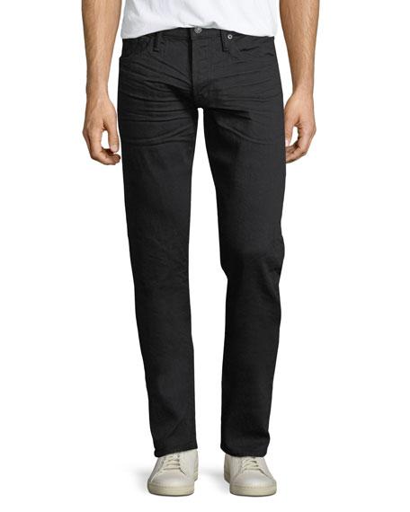 Tom Ford Straight-Leg Denim Jeans, Black