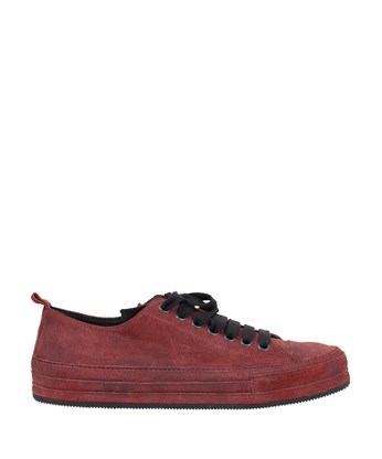 Ann Demeulemeester Lace-up Sneakers In Maroon