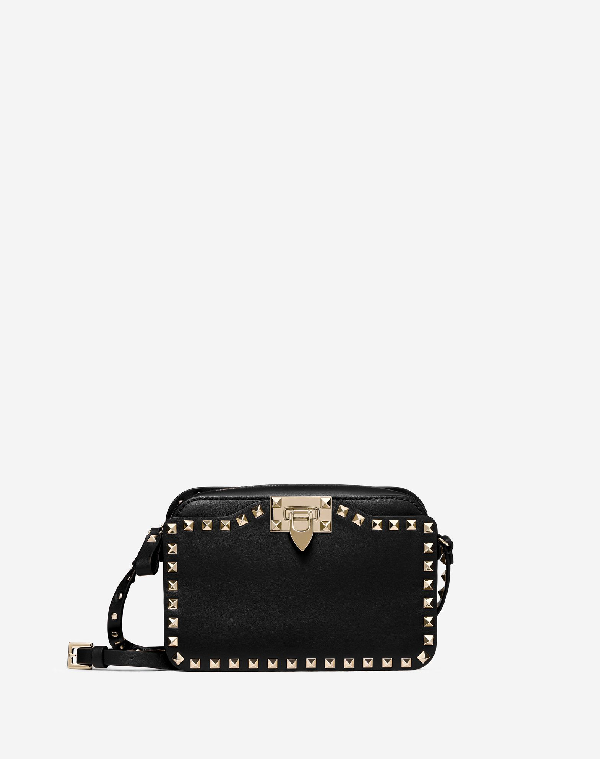 ba3a8a52fed4 Valentino Small Rockstud Crossbody Bag In Black | ModeSens