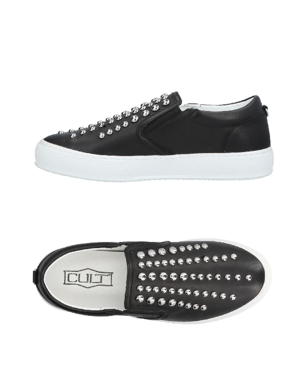 Cult Sneakers In Black