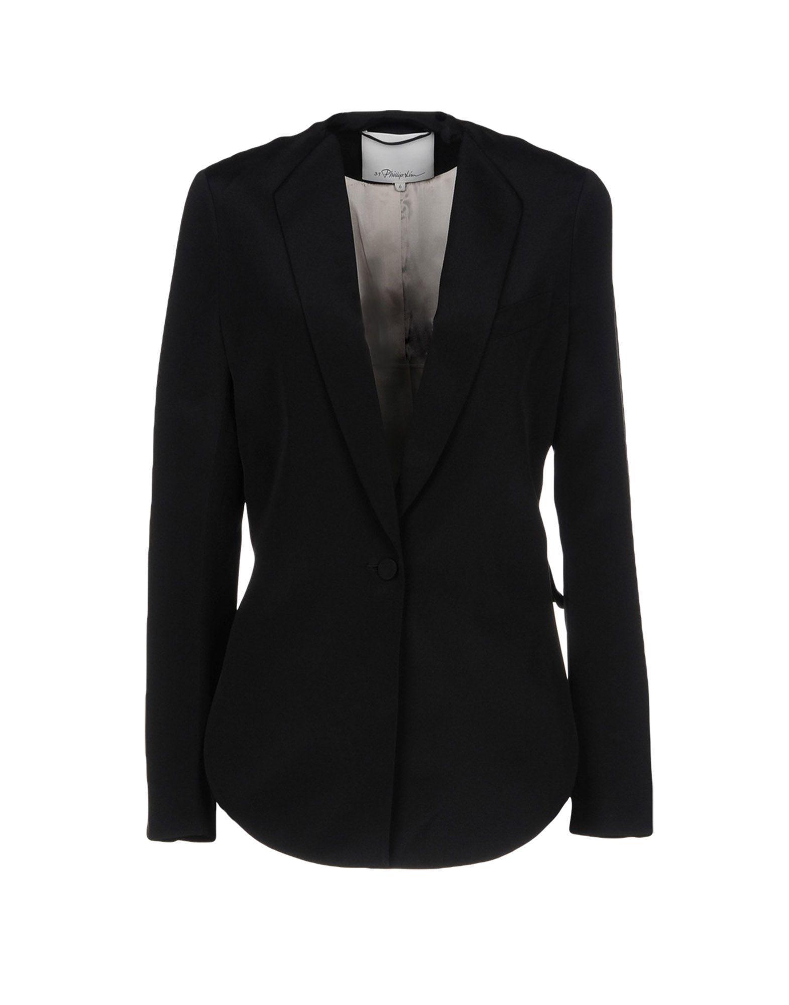 3.1 Phillip Lim Blazer In Black