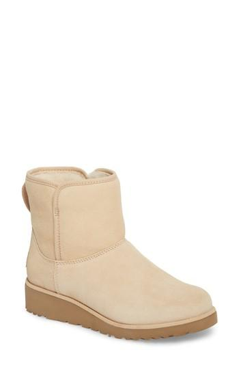 2b8ea52b8f2 Ugg Kristin - Classic Slim(Tm) Water Resistant Mini Boot In Cream Wool