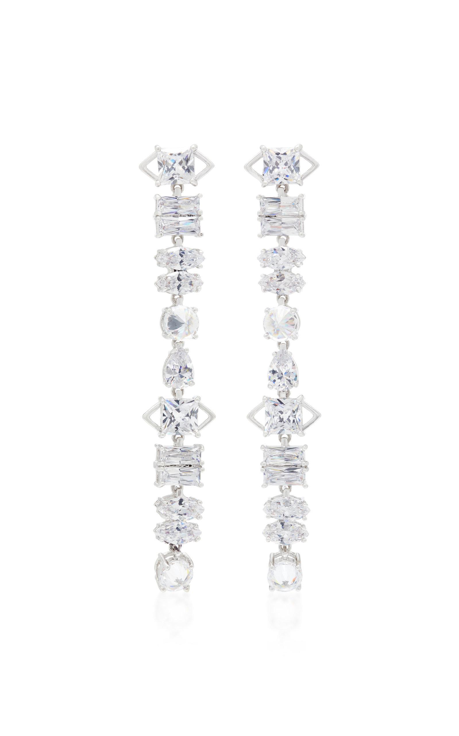 e20039a31 Fallon Jagged Edge Earrings In Silver | ModeSens