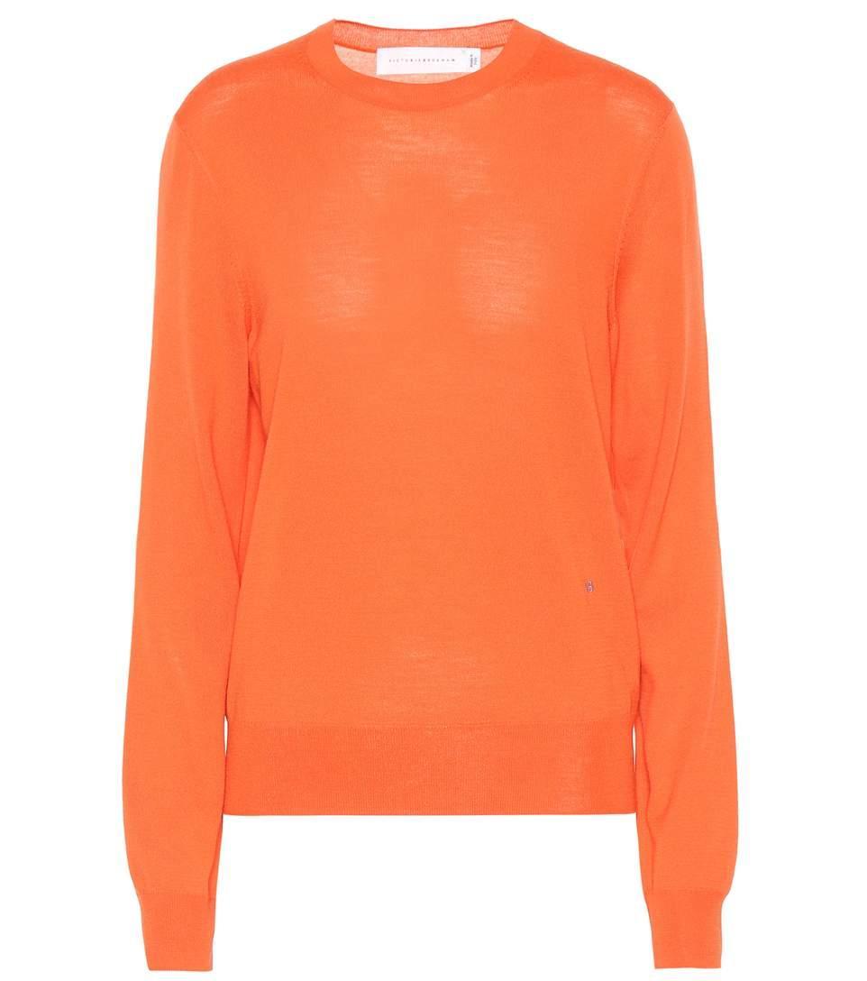 Victoria Beckham Merino Wool Sweater