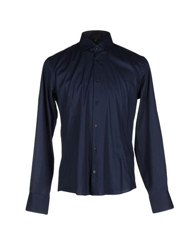 Just Cavalli Shirts In Dark Blue