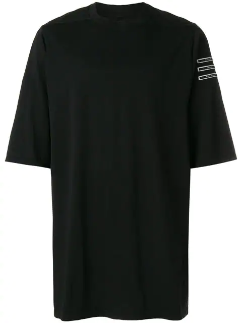 Rick Owens Drkshdw Jumbo Black Cotton Shorts