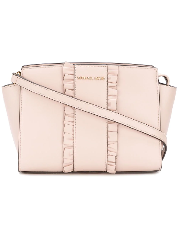 73e3b5535117d Michael Michael Kors Selma Medium Messenger Bag - Farfetch In Pink ...