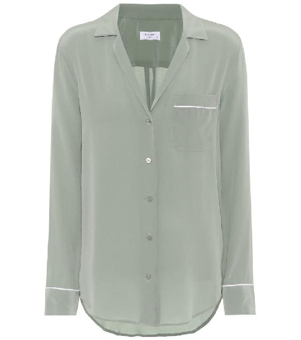 7368b31472a Equipment Keira Silk Shirt In Green