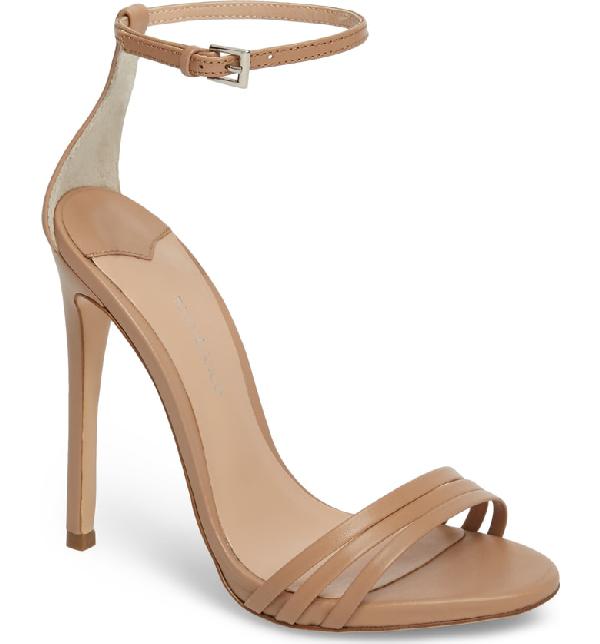 Tony Bianco Aroma Strappy Sandal In Skin Capretto Leather
