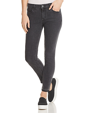 Parker Smith Kam Cropped Released-hem Skinny Jeans In Griffin