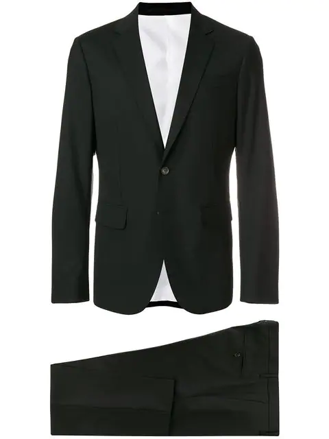 Dsquared2 Tailored Suit In Black
