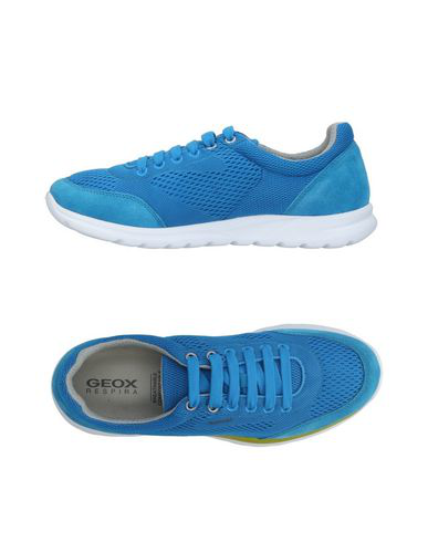 Geox Sneakers In Azure