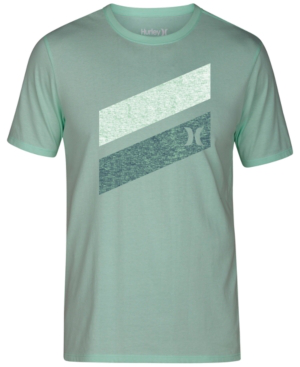 Hurley Men's One And Only Slash T-shirt In Mint Foam