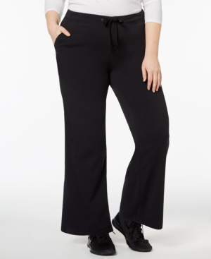 Columbia Plus Size Anytime Pants In Charcoal