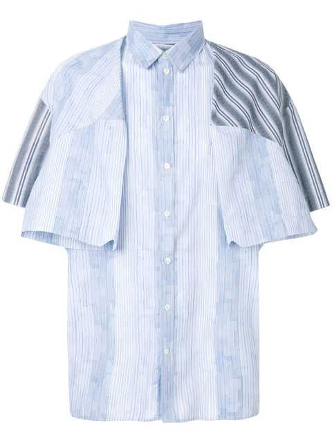Y/project Multi-striped Shirt