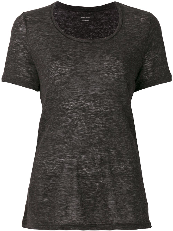 Isabel Marant Mika T-shirt - Grey