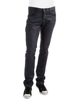 John Varvatos Bowery Fit Jeans In Graphite