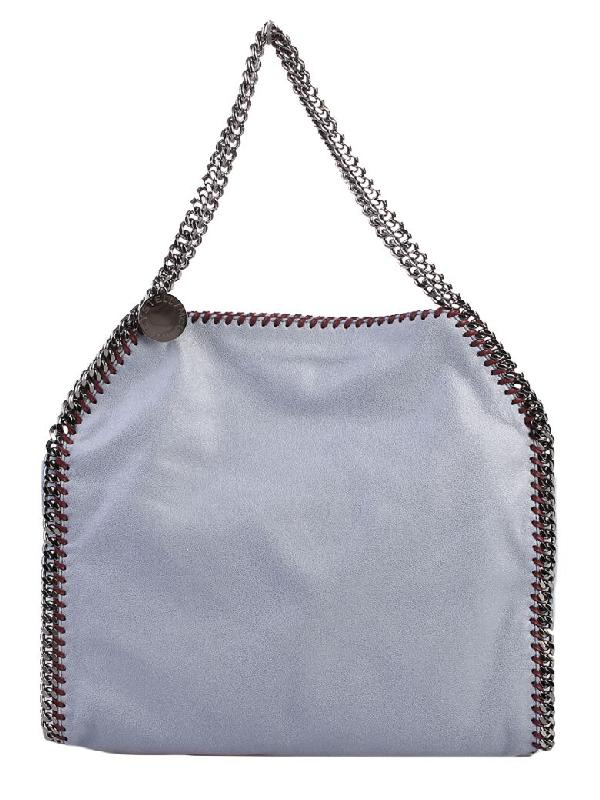 Stella Mccartney Blue Falabella Double Chain S Bag