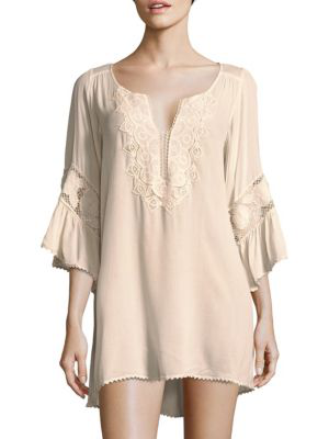 L*space Embroidered Coverup In Redwood