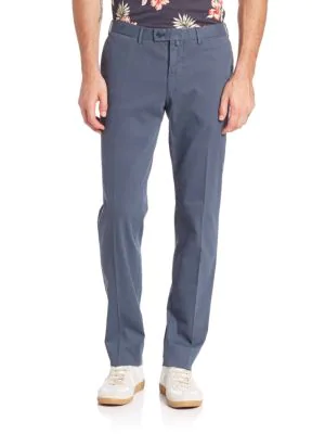 J. Lindeberg Gran 8 Broken Twill Pants In Blue