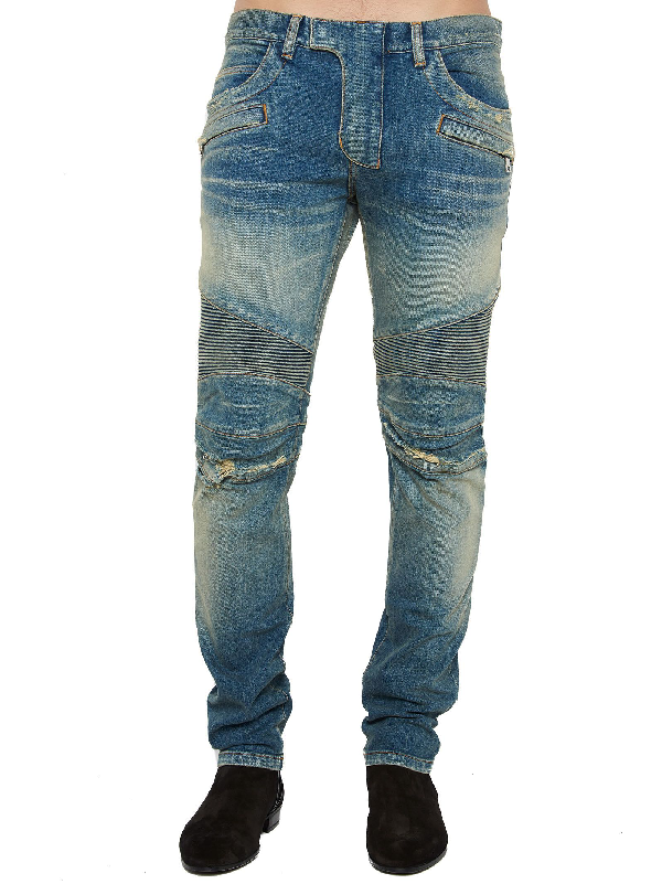 Balmain Jeans In Blue