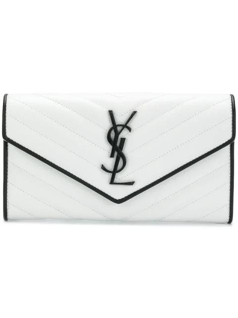 Saint Laurent Monogramme Flap Wallet
