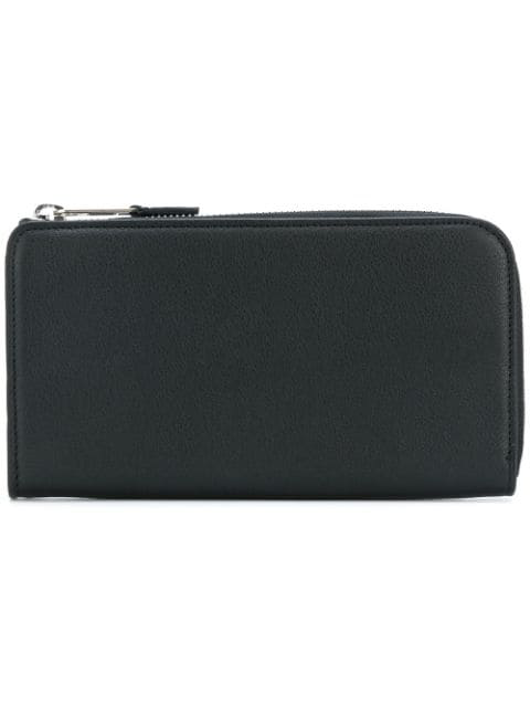 Maison Margiela Classic Zip Around Wallet - Black