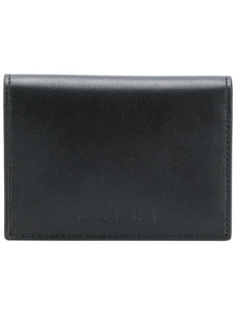 Marni Foldover Cardholder - Black