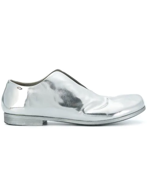 MarsÈll Open Front Loafers - Metallic